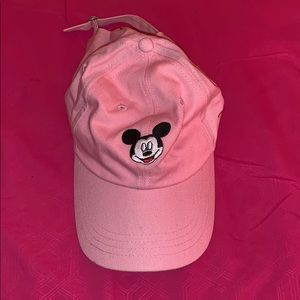 Pink Mickey Mouse Hat